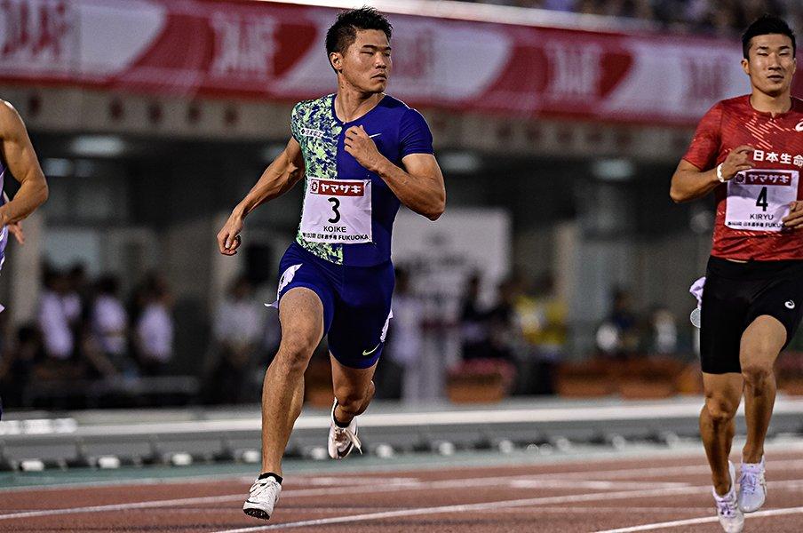 """サニブラウンも桐生も本気は決勝で。""""第3の男""""も絶好調の激戦男子100m。<Number Web> photograph by Nanae Suzuki"""