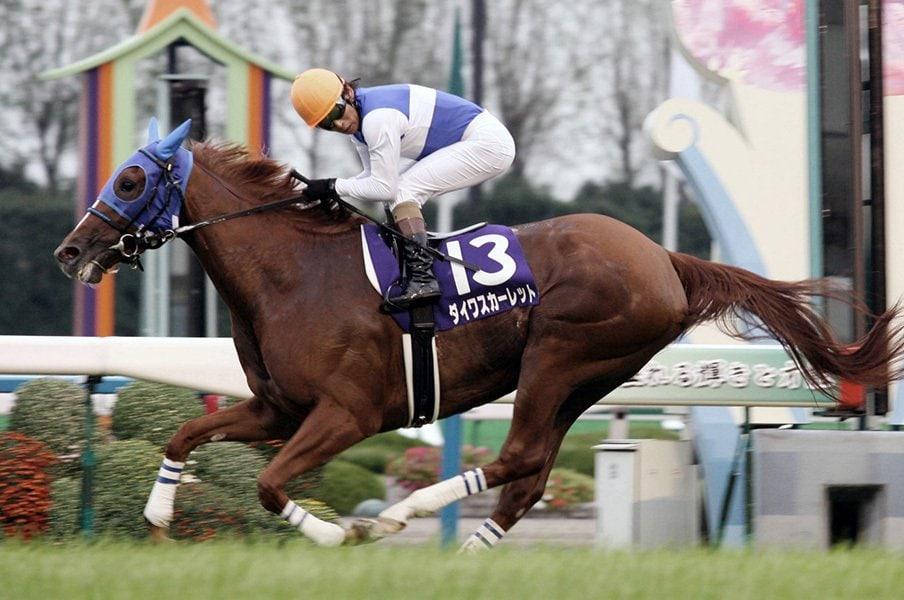 ウオッカ対スカーレットから10年。秋華賞の季節に思い出す名勝負。<Number Web> photograph by Kyodo News