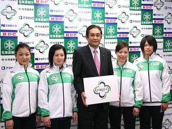 女子カーリングの未来を担えるか?注目の新チーム「フォルティウス」。<Number Web> photograph by Takaomi Matsubara