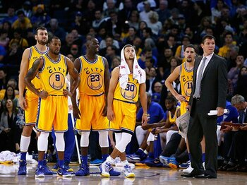 NBAでとんでもない記録が更新中!王者ウォリアーズ、驚異の連勝記録。<Number Web> photograph by Getty Images