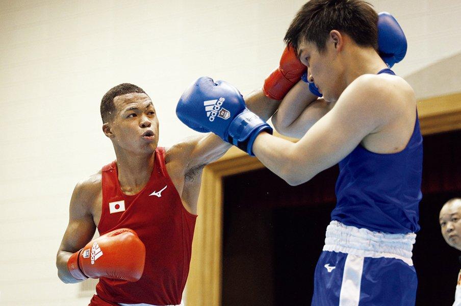 もう「サニブラウン」とは呼ばせない。岡澤セオンは「金メダルを獲る」。~ボクシングのメダル候補筆頭~<Number Web> photograph by KYODO