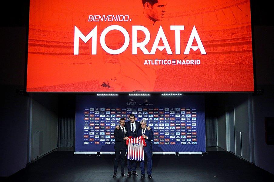裏切り者モラタ、マドリーに戻る。因縁のアトレティコ加入に勝算は?<Number Web> photograph by Getty Images