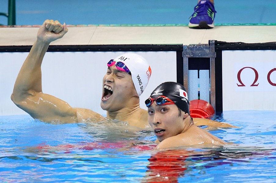 萩野公介、金メダル→7位→次は?「達成感」を捨て、リレーは期待大。<Number Web> photograph by AFLO