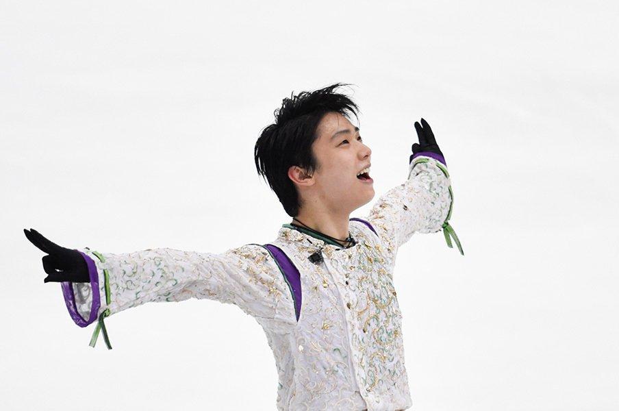 羽生結弦、新採点方式で究極の点数へ。男子フィギュアの劇的進化を振り返る。<Number Web> photograph by Asami Enomoto