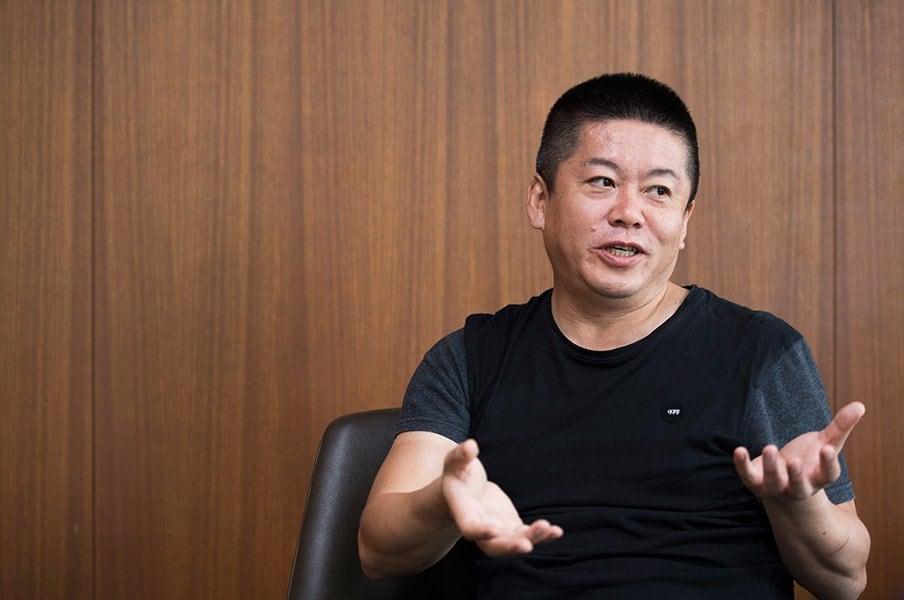 """池田純が語る、ホリエモンのこと。「""""人間クローラー""""と称しています」<Number Web> photograph by Asami Enomoto"""