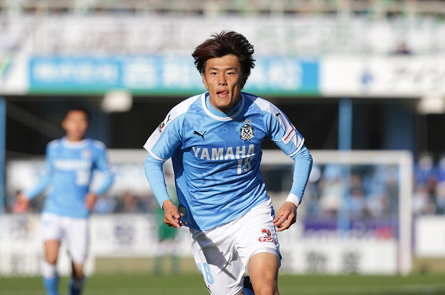 <Have a Dream 夢追い人の挑戦>ジュビロ磐田・小川航基が目指す場所。<Number Web> photograph by J.LEAGUE