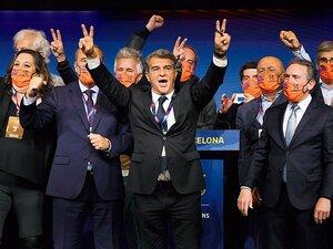 """混沌バルサの新会長ラポルタ、""""2度目""""の公約の行方は。~メッシ依存脱却も?~"""