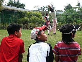 石川遼は、強い心でボールを飛ばす。