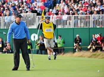トム・ワトソン、59歳。全英オープンで魅せた名人芸。<Number Web> photograph by Getty Images
