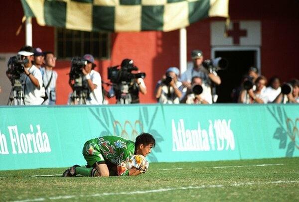 1996年7月21日 アトランタ五輪サッカー1次リーグ・グループD 日本vs.ブラジル