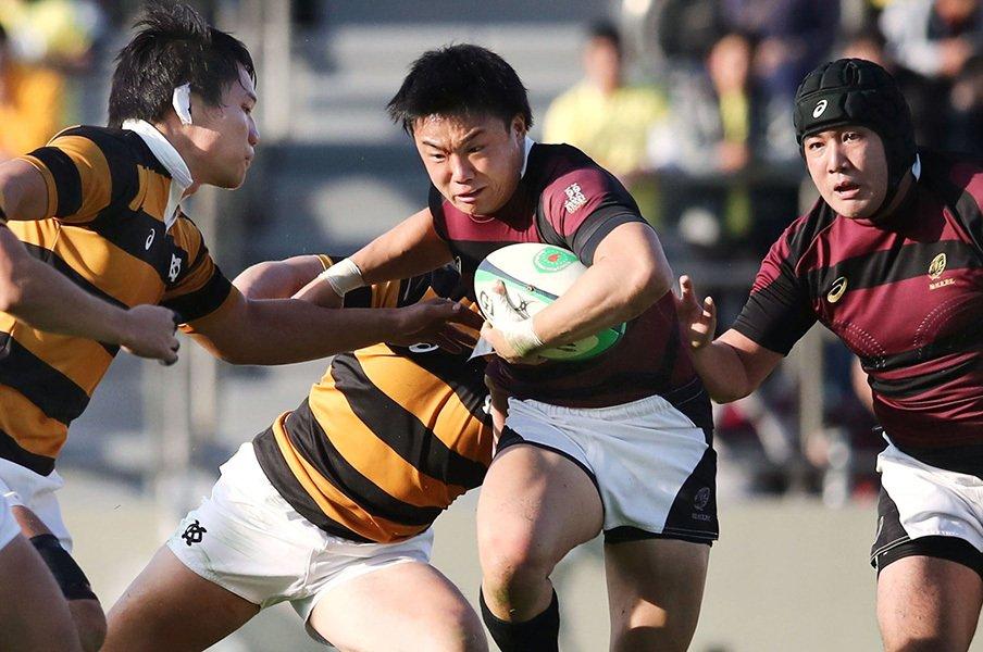 大学ラグビーは未熟だからこそ面白い。早慶戦に溢れていたミスとプライド。<Number Web> photograph by Kyodo News