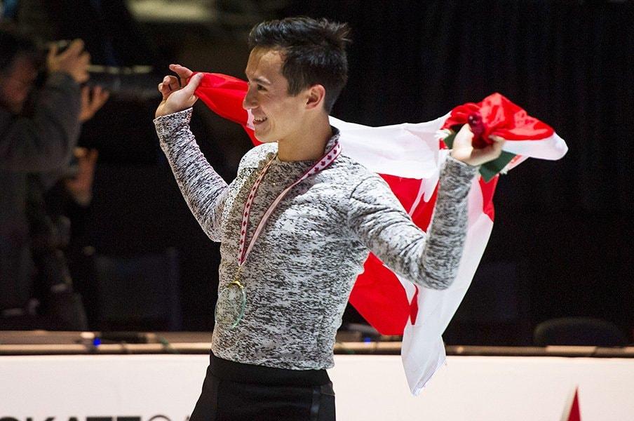 """カナダ選手権で「レベルアップを!」。前""""絶対王者""""P・チャンの新たな挑戦。<Number Web> photograph by ISU/ISU via Getty Images"""