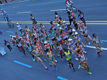 女子マラソンまでアフリカ勢が席巻。世界陸上にみる日本のお家芸の衰退。<Number Web> photograph by Hiroyuki Nakamura