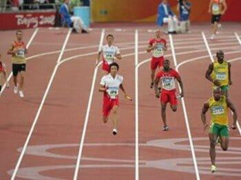 男子400mリレー 思いと歴史をのせたバトン。<Number Web> photograph by Shinji Koyama/JMPA