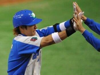 KEYMAN OF THE GAME 1 中島裕之 リーダーシップの証明。<Number Web> photograph by Hideki Sugiyama