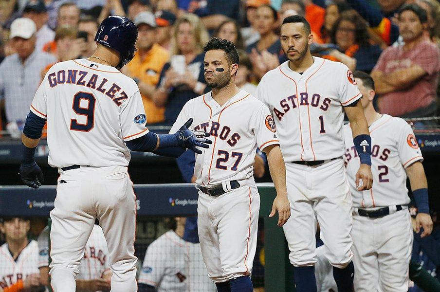 大リーグ連覇はなぜ至難の業なのか。アストロズが見せた脆さの本質。<Number Web> photograph by Getty Images
