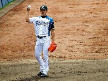 このまま戻っても、勝てない……。2つの恐怖と戦う斎藤佑樹の今。 <Number Web> photograph by Tatsuo Harada