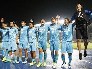 天皇杯でJクラブに3連勝の筑波大。謎の組織「パフォーマンス局」とは?<Number Web> photograph by Kyodo News