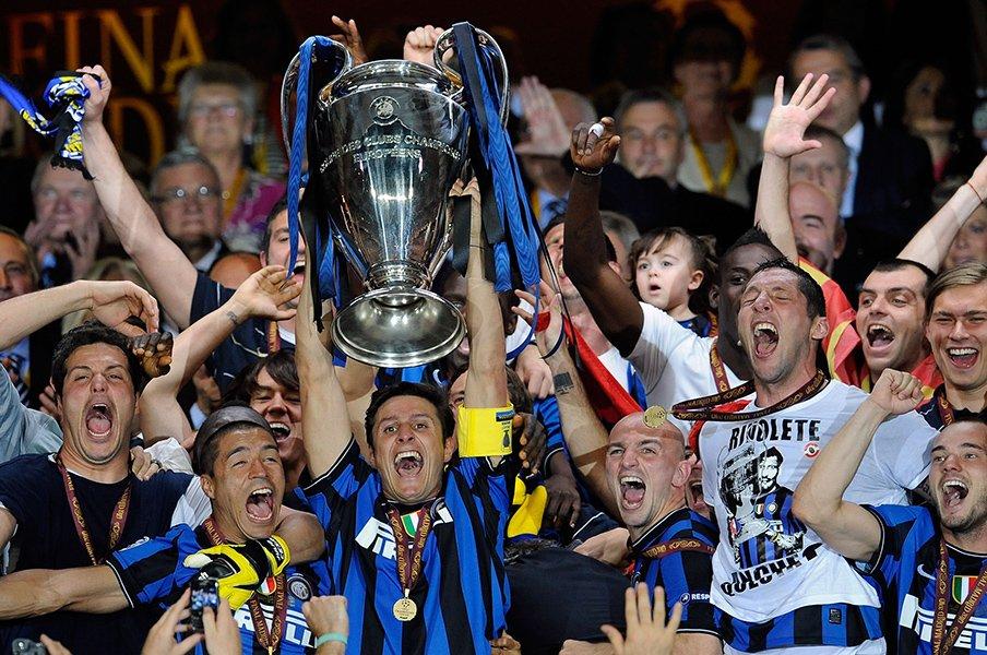 モウリーニョの毒とリアリズムと、ロマンチックなインテル3冠の結末。<Number Web> photograph by Getty Images