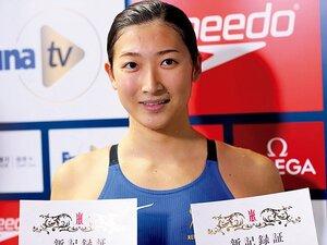 あこがれの女王についに初勝利。18歳・池江の成長が止まらない。~4つの世界記録保持者に100バタで勝利~