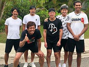 松田宣浩のグアム自主トレに密着!「走る量は年々、増やしてますね」