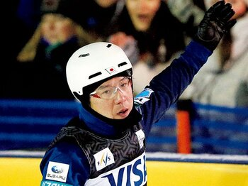 体操からスキーエアリアルへ。異色の37歳がメダルに挑む。~田原直哉「出るからには獲って帰りたい」~<Number Web> photograph by AFLO