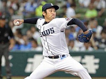 西武・増田達至を変えた配置転換。「中継ぎで周りが見られるように」<Number Web> photograph by Kyodo News