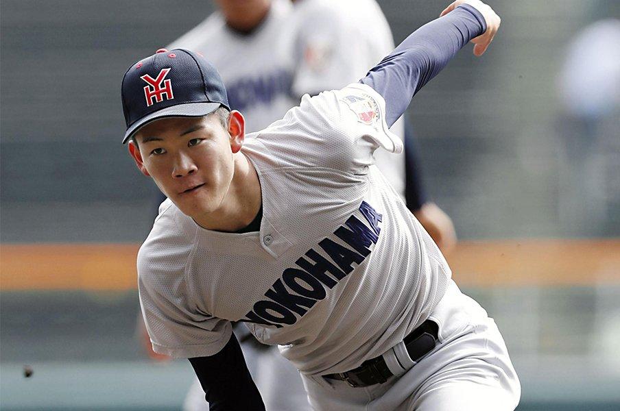 2019選抜の2大投手がどっちも凄い。完成型の奥川恭伸、素材の及川雅貴。<Number Web> photograph by Kyodo News