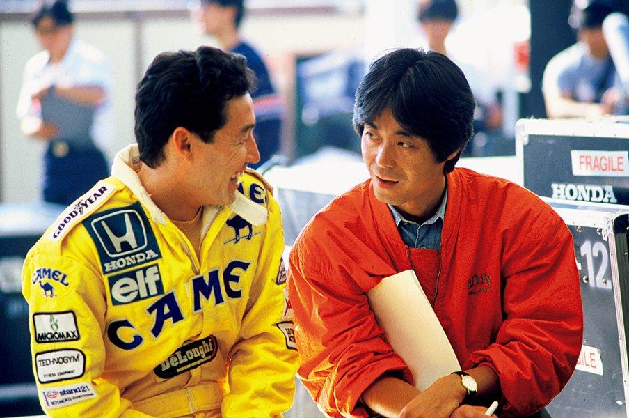 中嶋悟が語る、今宮純さんとF1。「気持ちを許してしゃべれた」<Number Web> photograph by Masahiko Nishikawa