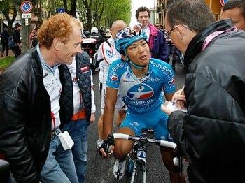 「ジロでステージ優勝を狙う」との言葉通り、見事な走りを見せた