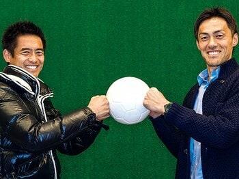 川口能活と楢崎正剛が語った、日本一シュートのうまい選手とは?<Number Web> photograph by Takuya Sugiyama
