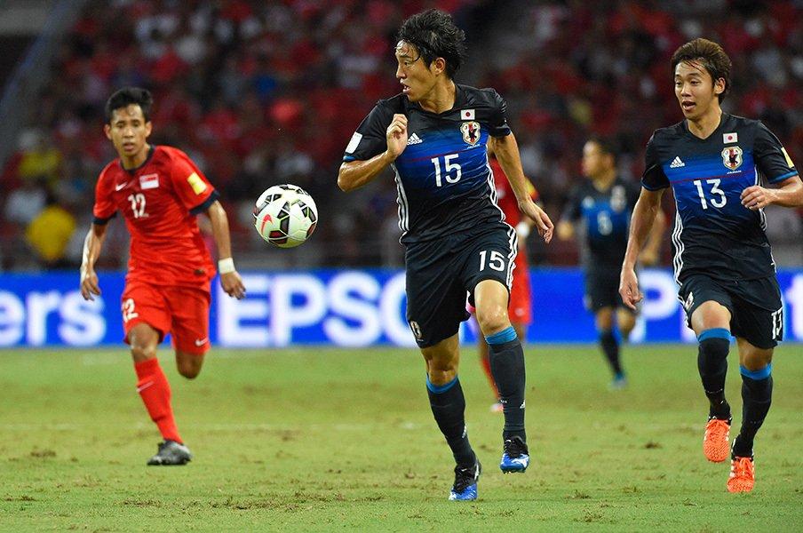 ザック、岡田、ジーコの誰とも違う部分。シンガポール戦でハリルが見せた新味。<Number Web> photograph by Takuya Sugiyama