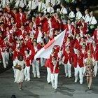 日本選手団、入場。~ロンドン五輪2012~