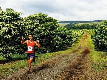 <ハワイ、ビッグアイランドを駆ける>ロコ気分でコーヒー畑を駆け抜けろ!~Ka'u Coffee Trail Run~<Number Web> photograph by Sho Fujimaki