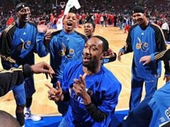 笑って許されなかった、アリーナスの銃所持事件。~NBA屈指のPGが出場停止に~<Number Web> photograph by NBAE/Getty Images