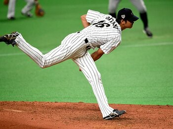 """オオタニはメジャーでエースの器!日米野球で証明されたその""""真価""""。<Number Web> photograph by Naoya Sanuki"""