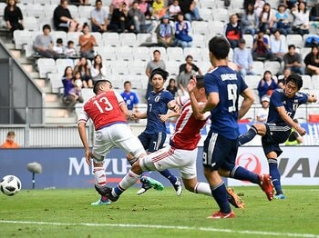W杯直前に間に合った価値ある勝利。本番でも香川、岡崎、乾を揃えては?<Number Web> photograph by Getty Images