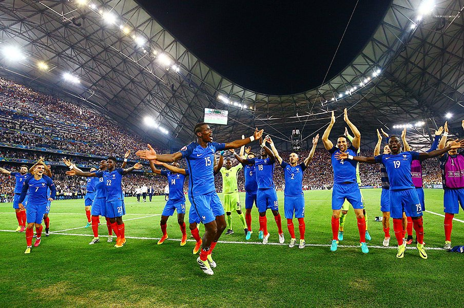 W杯もEUROもない年に真剣勝負を。フランスとドイツが新リーグで激突!<Number Web> photograph by UNIPHOTO PRESS