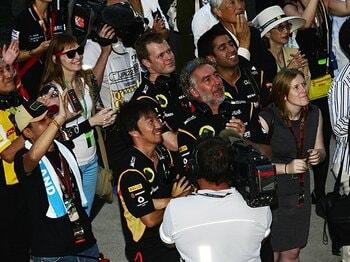 """日本GPで最速レッドブル勢に肉薄!グロージャンと小松礼雄の""""雪辱""""。<Number Web> photograph by Hiroshi Kaneko"""