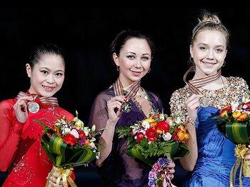 世界の女子フィギュア界は次世代へ。新女王の3アクセルと宮原の銀メダル。<Number Web> photograph by ISU/ISU via Getty Images