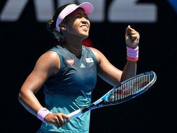 大坂なおみの体型が明白に変わった。女子テニスに渦巻くフィジカル革命。<Number Web> photograph by AFLO