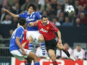 次元が違い過ぎて勝負にならない?シャルケ対マンUの残酷な90分間。<Number Web> photograph by Man Utd via Getty Images