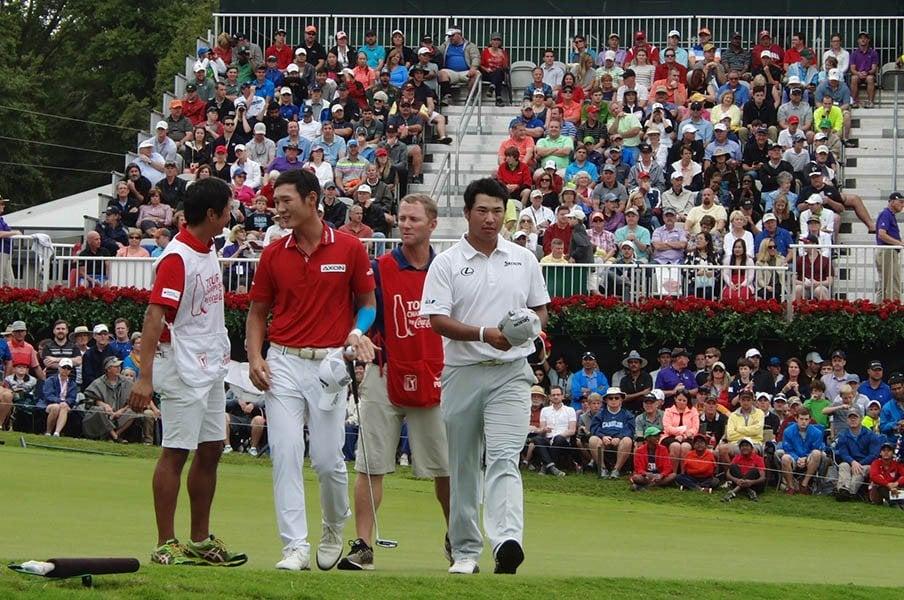 松山「なんで言ってくれるんだろう」ゴルフ界を担う仲間、とデイが指名。<Number Web> photograph by Sonoko Funakoshi