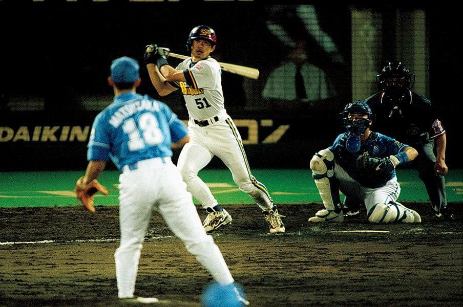 <中嶋聡が見た100号>イチローvs.松坂大輔「最初で最後の1本塁打」<Number Web>