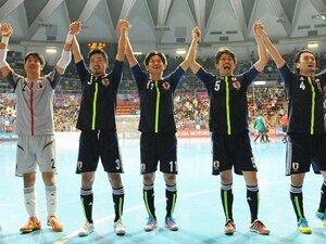 """""""悲願のW杯16強""""も終着点ではない!日本フットサル、新たな歴史への挑戦。"""
