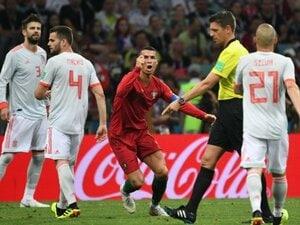 スペインもポルトガルもまずは満足?3-3のドローは超絶個人技の応酬。