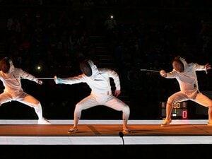太田雄貴会長の大仕事、全日本選手権。フェンシング大会でダンスにLED!?