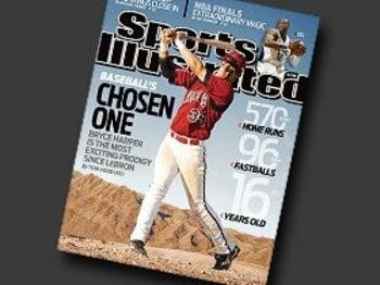 """""""選ばれし者""""ハーパーが、ストラスバーグと黄金期を築く!<Number Web> photograph by Sports Illustrated/Getty Images"""