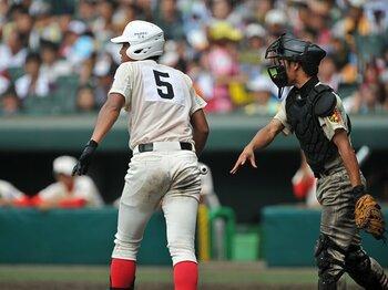 「相変わらず多い、見逃し三振」 智弁学園と習志野が敗北した要因。<Number Web> photograph by Hideki Sugiyama