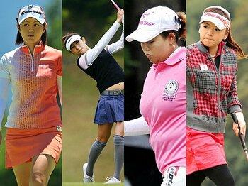 <2012日本女子プロゴルフツアー展望> 「女王の座を賭けた世界最高峰の戦いが始まる」<Number Web> photograph by AFLO/KYODO